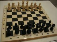 Chess with the board - impal (art n2-x. N6-6)