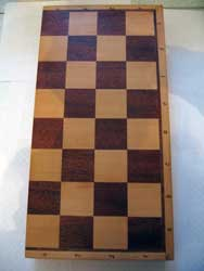 Chessboard folding large production of Russia