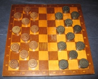 Checkers of the USSR. 40-50s of the XX century ART P-3