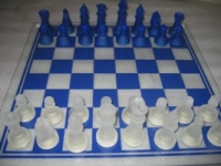 A set of glass chess ART P3