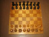 Chess, wooden, Soviet ART P3