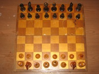 Chess antiquarian from a tree - ART P-2