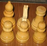 Chess tournament wooden without boards Art-ORL