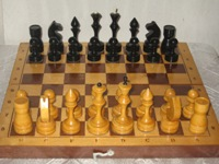 Chess, wooden (30x30)