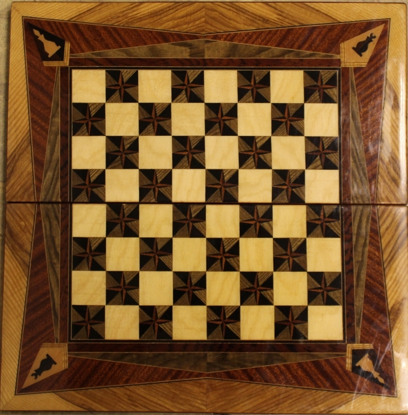 Wooden board with inlay ART-P7