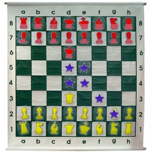 Demonstration chessboard 90 x 90