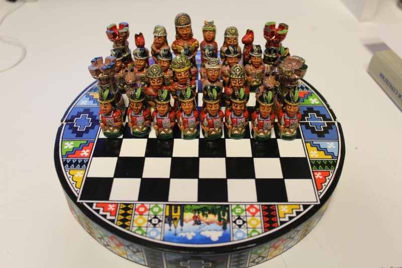 Chess is Mexican. (artificial stone) ART-SH