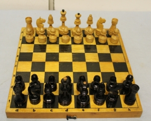 Wooden Chess, 60-70-ies, USSR (Khalturinsky factory of cultural goods)
